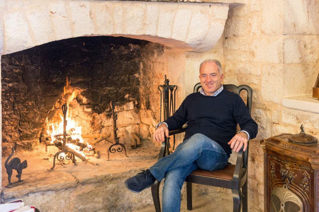 Il proprietario Dott. Giovanni Scianatico